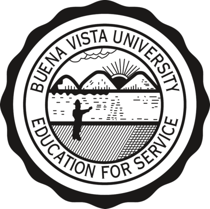 Buena Vista University Logo black