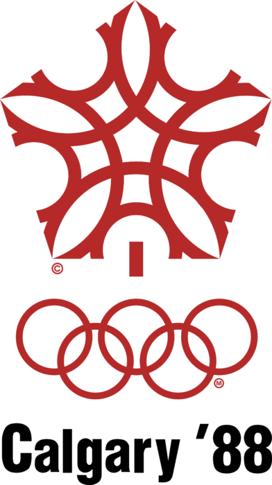 Calgary 1988, XV Winter Olympic Games Logo