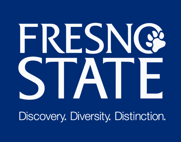 California State University, Fresno Logo blue
