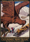 Chamonix 1924, I Winter Olympic Games Logo
