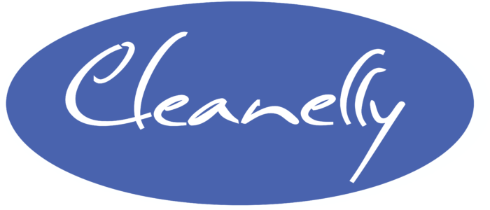 Cleanelly Logo blue