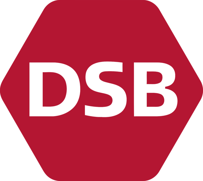 Danish State Railways Logo full