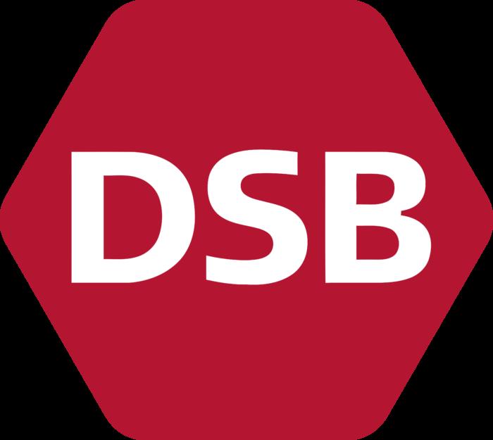 Danish State Railways Logo full