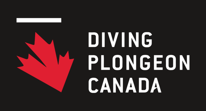 Diving Plongeon Canada Logo