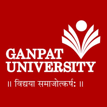 Ganpat University Logo