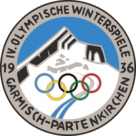 Garmisch Partenkirchen 1936, IV Winter Olympic Games Logo