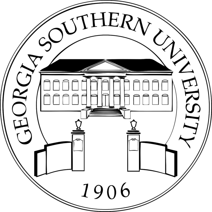 Georgia Southern University Logo black