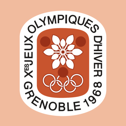 Grenoble 1968, X Winter Olympic Games Logo