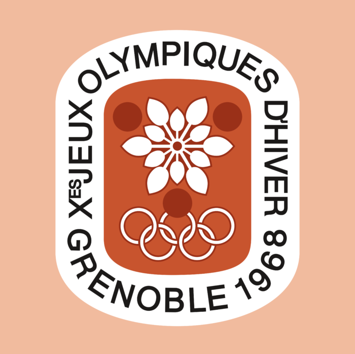 Grenoble 1968, X Winter Olympic Games Logo