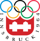 Innsbruck 1964, IX Winter Olympic Games Logo