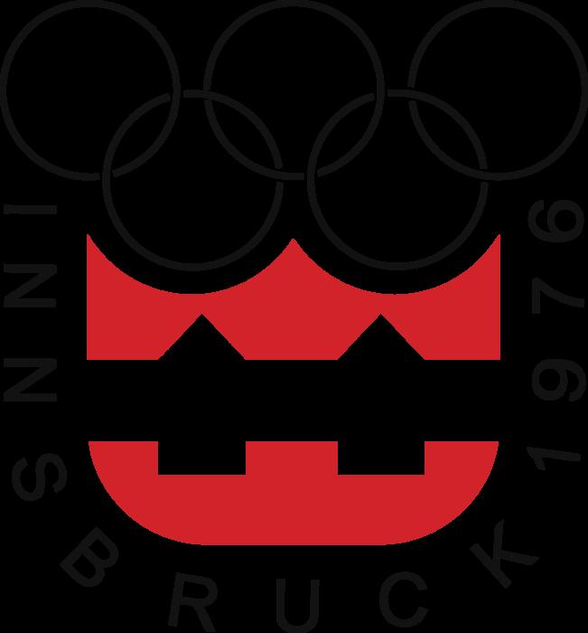 Innsbruck 1976, XII Winter Olympic Games Logo