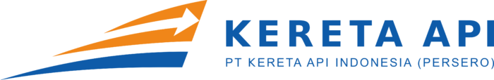 Kereta Api Logo horizontally