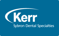 Kerr Dental Products Logo white text