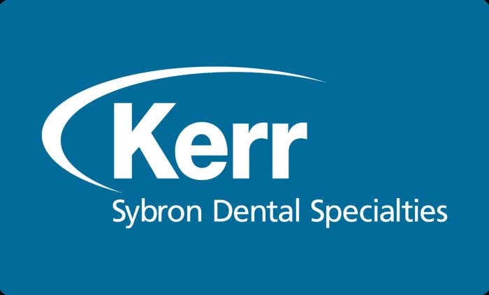 Kerr Dental Products Logo white text