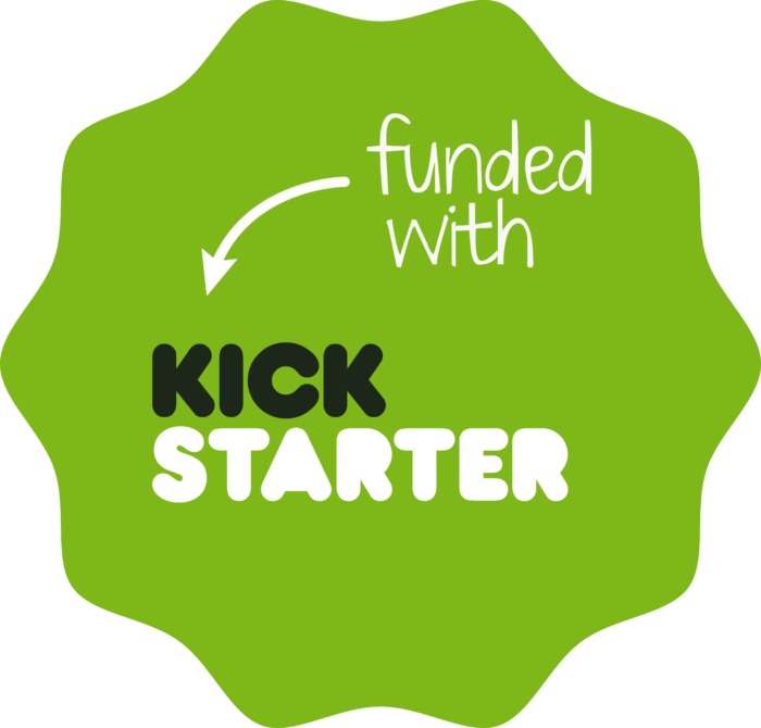 Kickstarter Logo old green