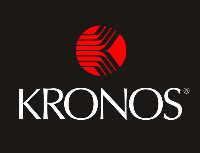 Kronos Incorporated Logo black