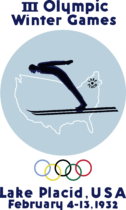 Lake Placid 1932, III Winter Olympic Games Logo