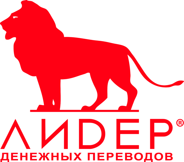 Leader Logo ru red
