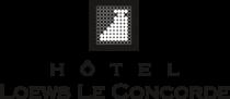 Loews Le Concorde Hotel Logo