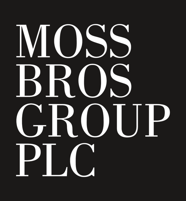 Moss Bros Logo black backround