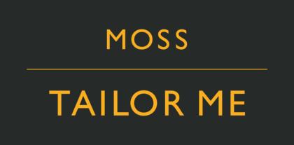 Moss Bros Logo orange text