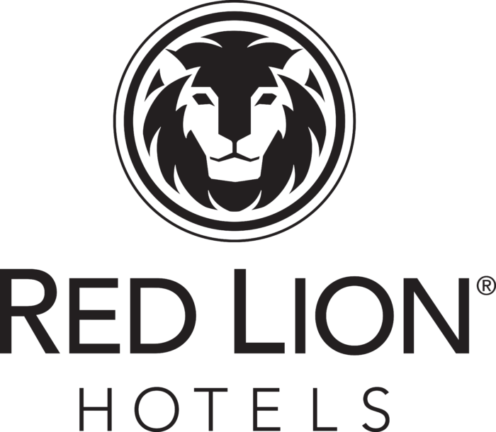 Red Lion Hotels Logo black