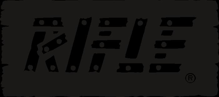 Rifle Logo black