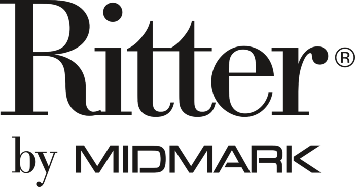 Ritter by Midmark Logo text