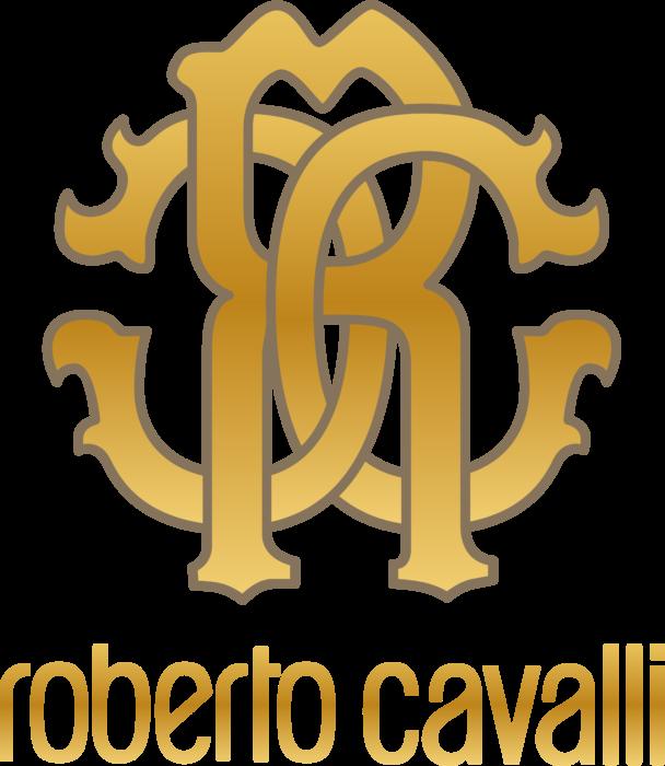 Roberto Cavalli Logo gold