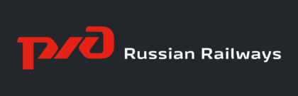 Russian Railways, RZD Logo black background