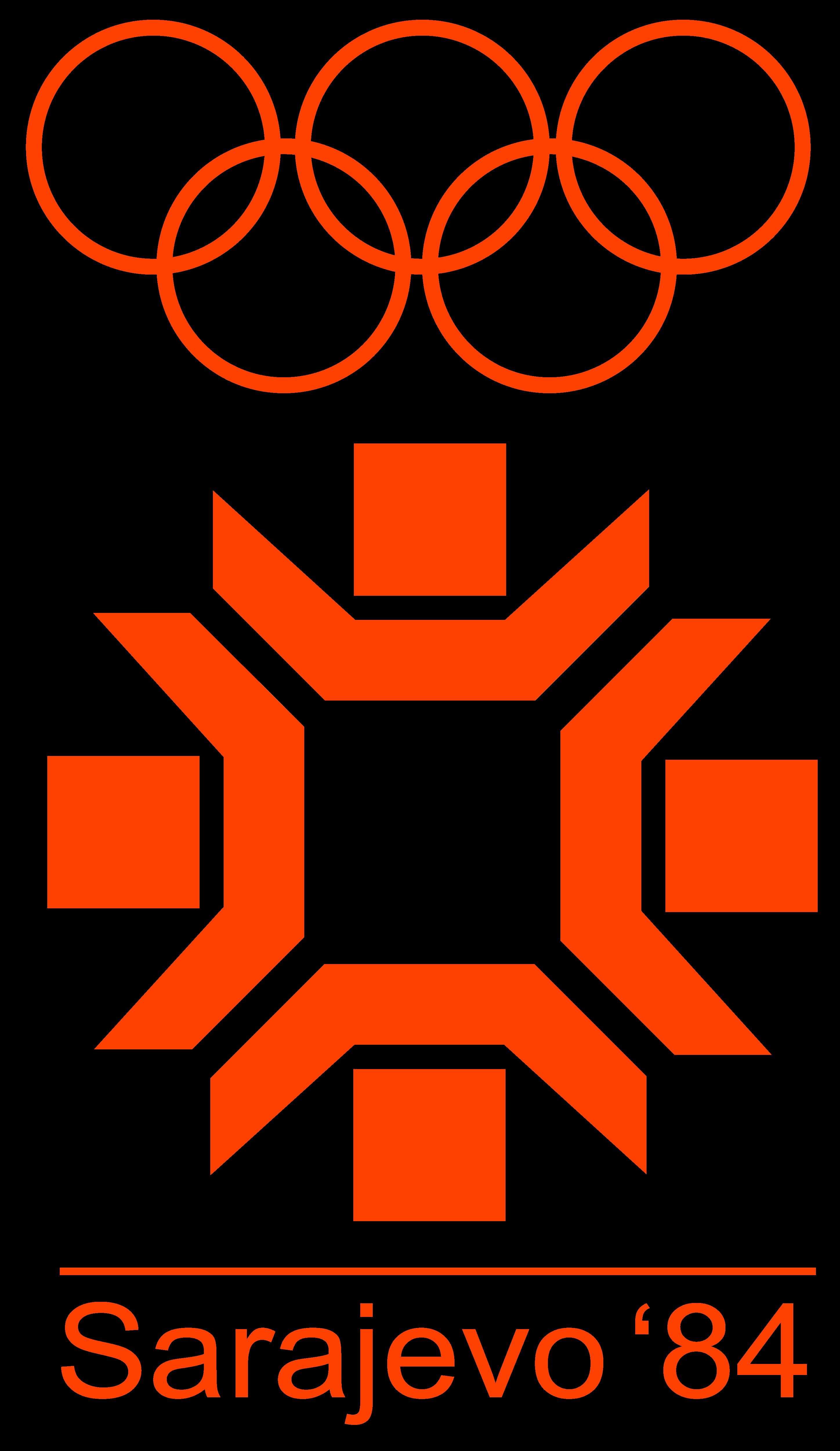 Sarajevo 1984, XIV Winter Olympic Games - Logos Download