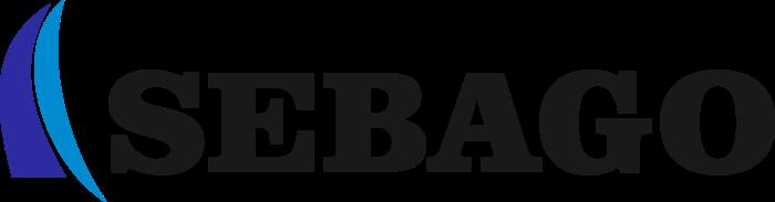 Sebago Logo black text