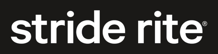 Stride Rite Logo white text