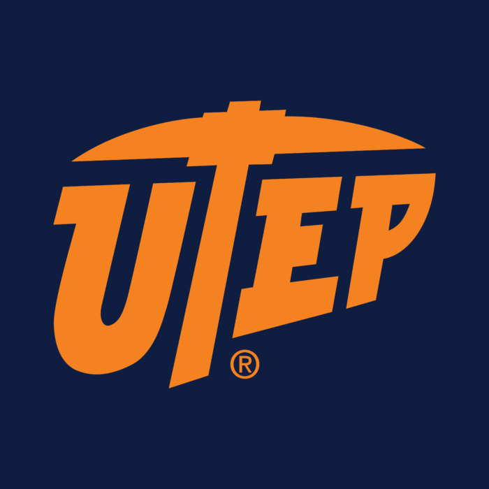 University of Texas at El Paso Logo yellow text