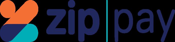 Zip Pay & Zip Money Logo blue text