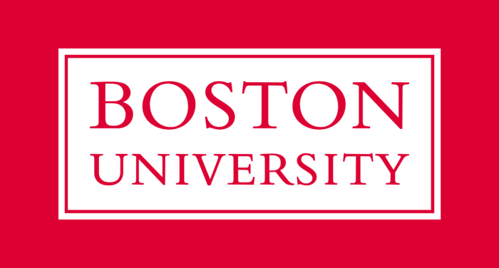 Boston University Logo text