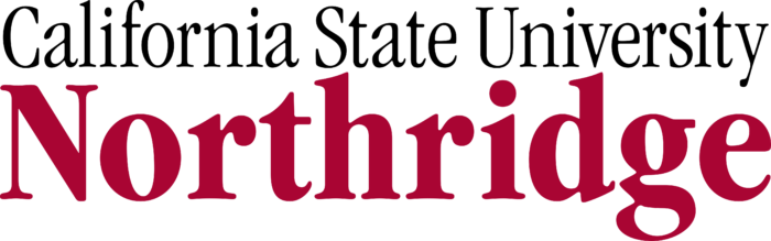 California State University, Northridge Logo text