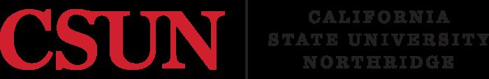 California State University, Northridge Logo text 2