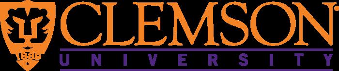Clemson University Logo horizontally