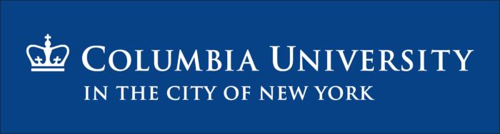 Columbia University Logo blue