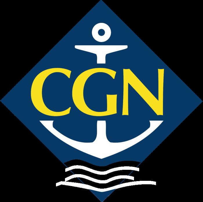 Compagnie Générale de Navigation Sur Le Lac Léman Logo old