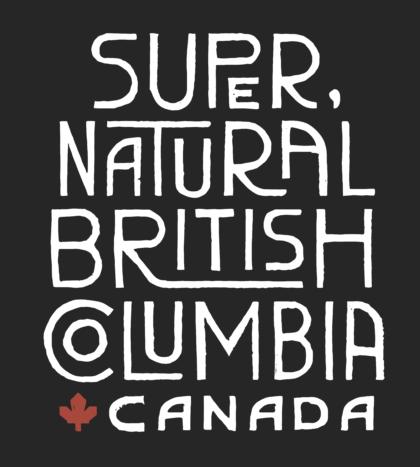 Destination British Columbia Logo black