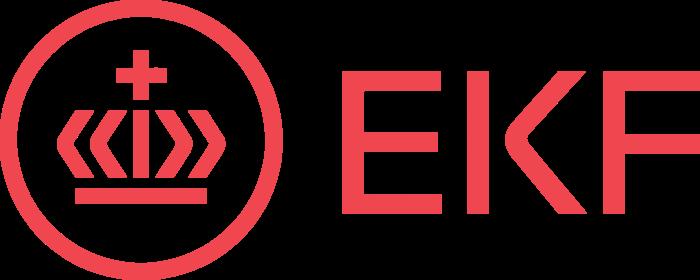 EKF Danmarks Eksportkredit Logo full