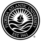 Florida Atlantic University Logo black