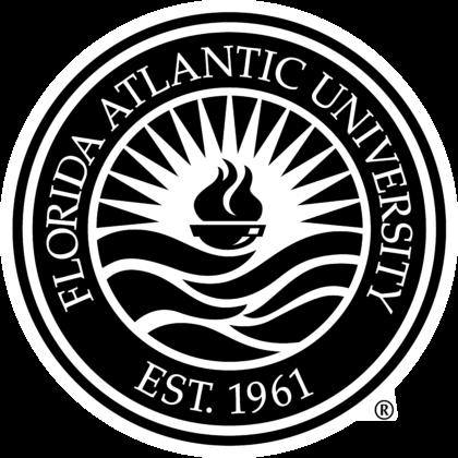 Florida Atlantic University Logo black