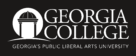 Georgia College & State University Logo black