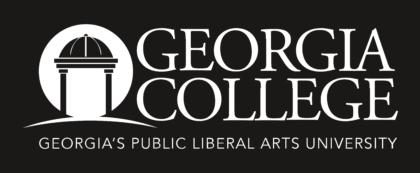 Georgia College & State University Logo black