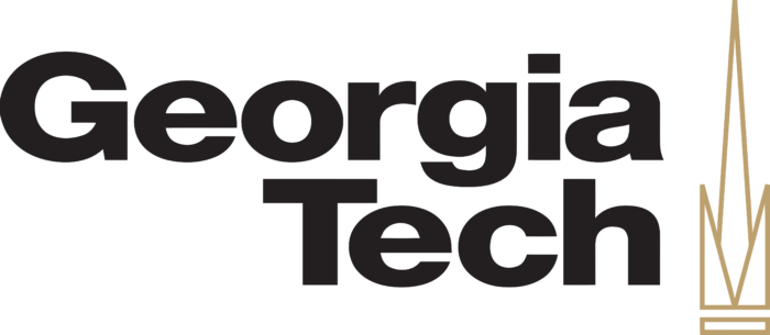 Georgia Institute of Technology Logo black text