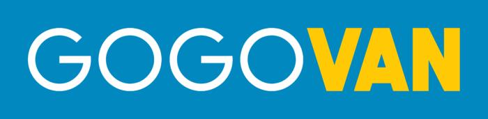 GoGoVan Logo blue background