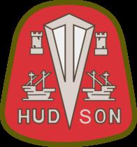Hudson Motor Car Company Logo red